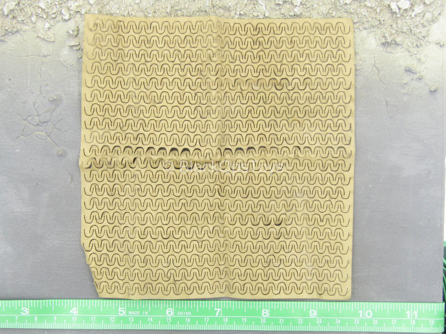 U.S. Army ISAF Soldier - Tan Camo Netting
