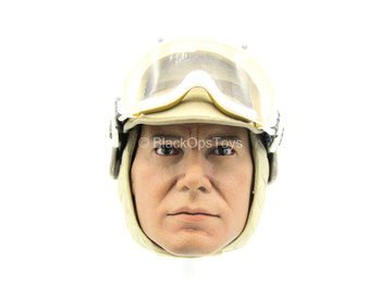 STAR WARS - Han Solo - Helmeted Head Sculpt in Harrison Ford Likeness