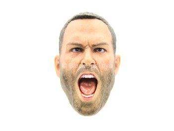 300 - Themistokles - Male Head Sculpt w/Yelling Expression