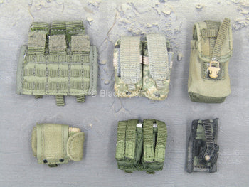 OD Green MOLLE Pouch Set