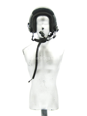 Black HALO Helmet w/Microphone