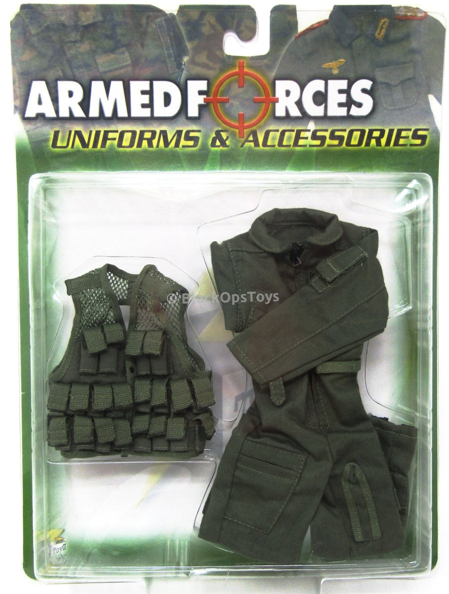 Armed Forces OD Green Uniform Set MINT IN BOX