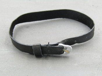 Anna Valerious - Black Leather Like Belt