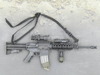 Black SR-16 M4 w/Attachment Set & Sling