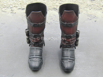 Infinity War - Star Lord - Red & Black Boots (Peg Type)