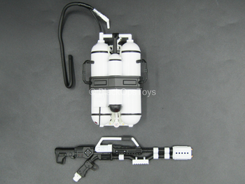 White & Black Flamethrower w/Backpack