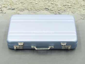 Metal Blue Briefcase