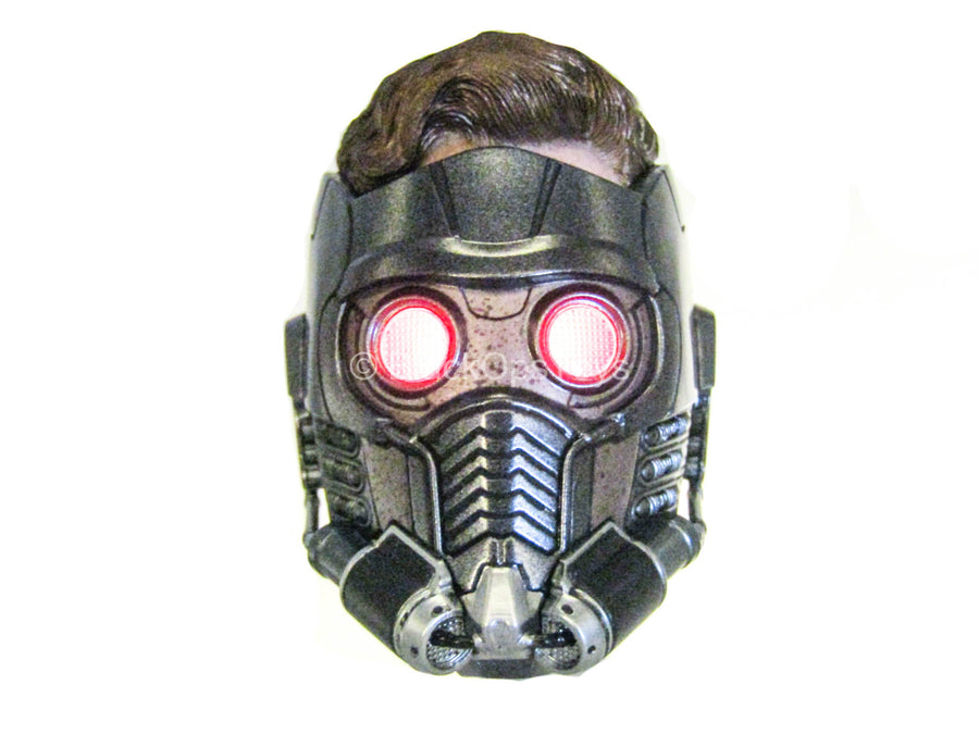 Infinity War - Star Lord - Helmeted Head Sculpt w/Light Up Action