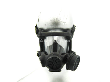 Metal Black Female Gas Mask
