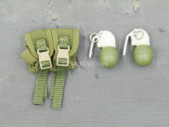 Spetsnaz FSB Alfa Group 3.0 - Grenades w/Dual Cell MOLLE Pouch