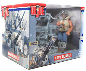 GI JOE - Navy Gunner - MINT IN BOX
