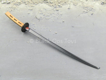 GI JOE - Snake Eyes - METAL Black & Brown Katana