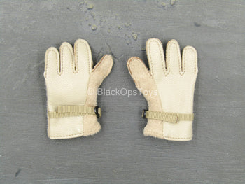 Chinese PLA - Special Forces - Tan Gloves