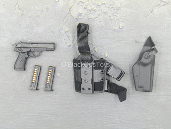 Chinese PLA - Special Forces - QSZ-92 Pistol w/Drop Leg Holster