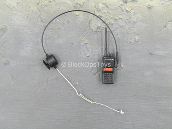 Chinese PLA - Special Forces - Black Radio w/Earpiece