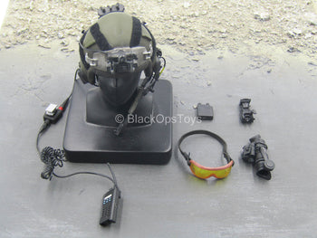US Air Force Combat Controller - Aircrew Helmet w/Goggles & NVG