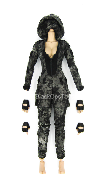 Female Shooter - Python Villa - Base Body w/Kryptek Uniform Set