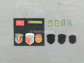 Chinese PLA - Special Forces - Patch Set
