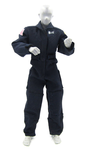 Police Helicopter Pilot - Blue Flight Suit