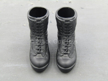 "S.W.A.T. - Sheriff""s Dept. - Black Combat Boots (Foot Type)"