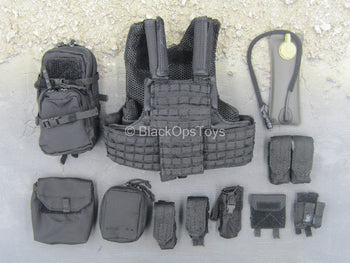 Chinese PLA - Special Forces - Plate Carrier Vest w/Pouch Set