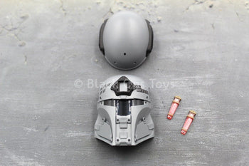 Galac-Tac - Urban Raider - Grey Helmet w/Mask Set