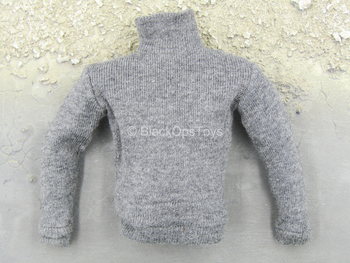 WWII - French Resistance - Grey Turtleneck Sweatshirt