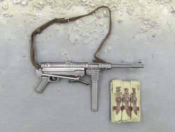 WWII - French Resistance - Metal MP-40 Submachine Gun Set