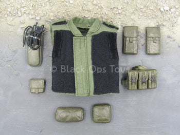 "S.W.A.T. - Sheriff""s Dept. - OD Green Vest & Pouch Set"