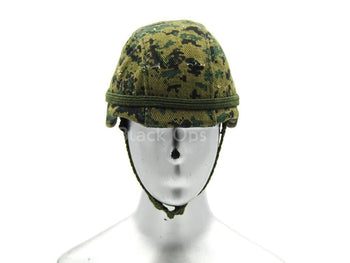 "USMC - Captain ""Arthur Fenton"" - Digital Woodland Helmet"