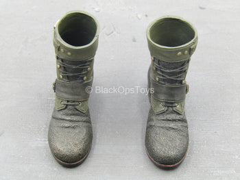 The Dark Knight Rises - Bane - Brown & Green Boots (Peg Type)
