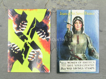 WWII - French Resistance - Propaganda Poster Set
