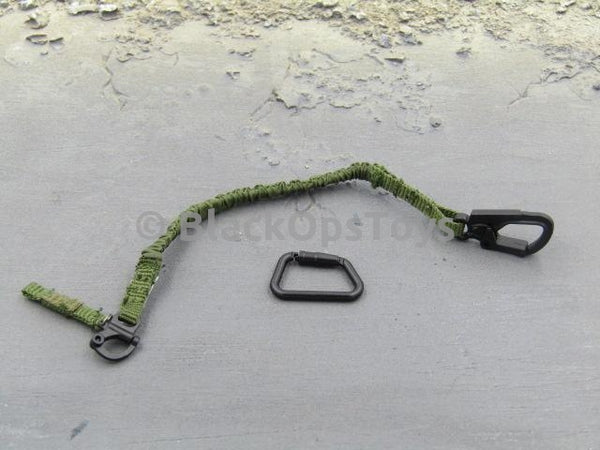 Easy & Simple 26009R SMU Tier 1 Navy Seal Zero Dark Thirty Operator Type A Green Safety Retention Sling & Carabiner