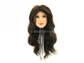 Pisces - Lucy - Female Head Sculpt w/Brown Hair