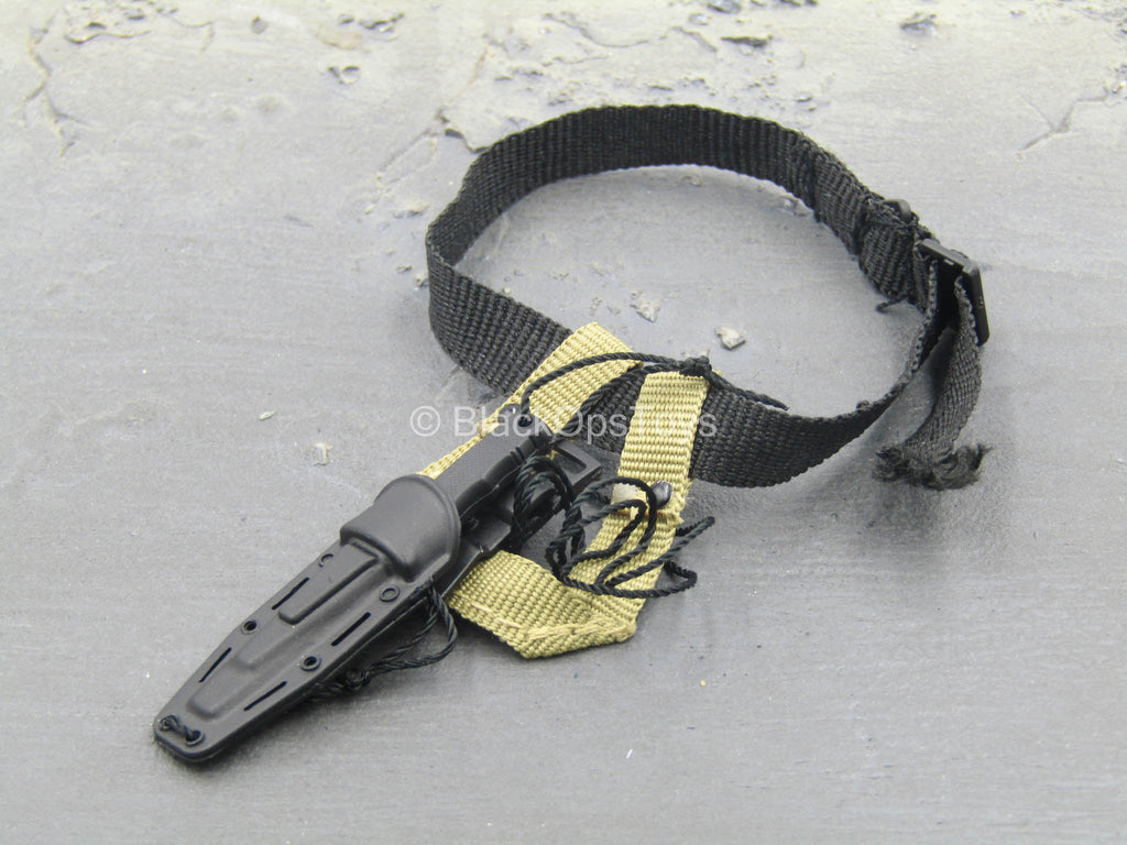 10th Mountain Division MSG - Combat Knife w/Belt & Sheath Set