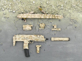 Navy Seal Zero Dark Thirty Operator AOR MP7 Submachine Gun Set