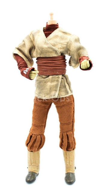 Star Wars Leia As Boushh Female Battle Uniform Set