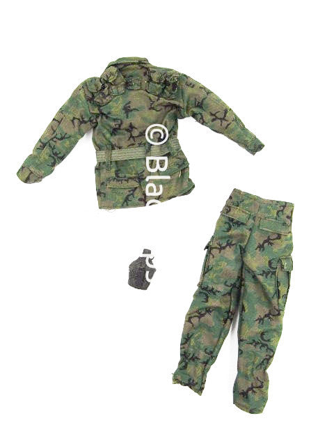 21st Century Toys Vietnam Navy Seal Pointman Woodland Camo Uniform