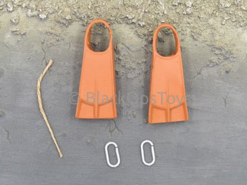 21st Century Toys Vietnam Navy Seal Pointman Orange Flippers & Carabiners