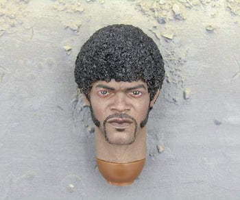 Kerr Samuel L Jackson Pulp Fiction African American Head Sculpt