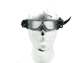 10th Mountain Division MSG - Black Goggles w/Clear Lenses