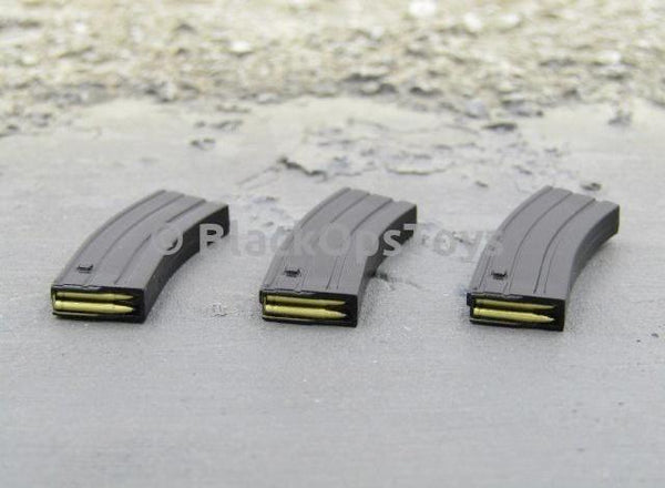 Easy & Simple 26009R SMU Tier 1 Navy Seal Zero Dark Thirty Operator Type A Black HK416 Magazines x3