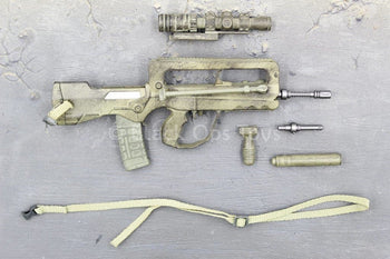 GI JOE - Desert Trooper Dusty - FAMAS w/Bipod & Attachment Set