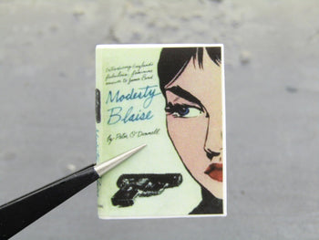 Vincent John Travolta Pulp Fiction Modesty Blaise Book
