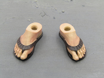 Vincent John Travolta Pulp Fiction Feet w/Flip Flops Peg Type