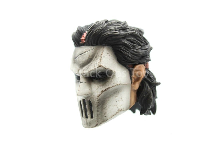 TMNT - Casey Jones - Hockey Masked Head Sculpt