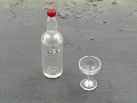 JAMES BOND 007 - Vodka & Glass Set