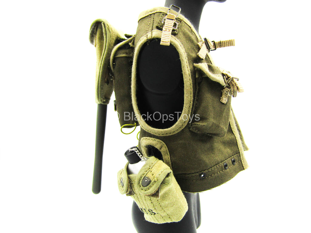 WWII - US Ranger Private Sniper - Ranger Charge Vest w/Gear Set
