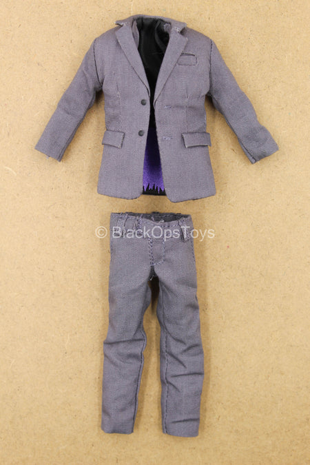 1/12 - The Joker Bank Robber - Grey Suit Uniform Set