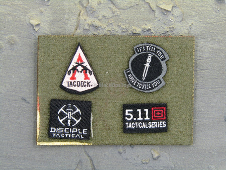 "Doomsday End War Death Squad ""K"" Caesar Call Of Duty Ghosts Uniform Patches"